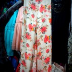 Floral print palazzo pants