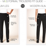 Modern Fit Pants-Marks and Spencer