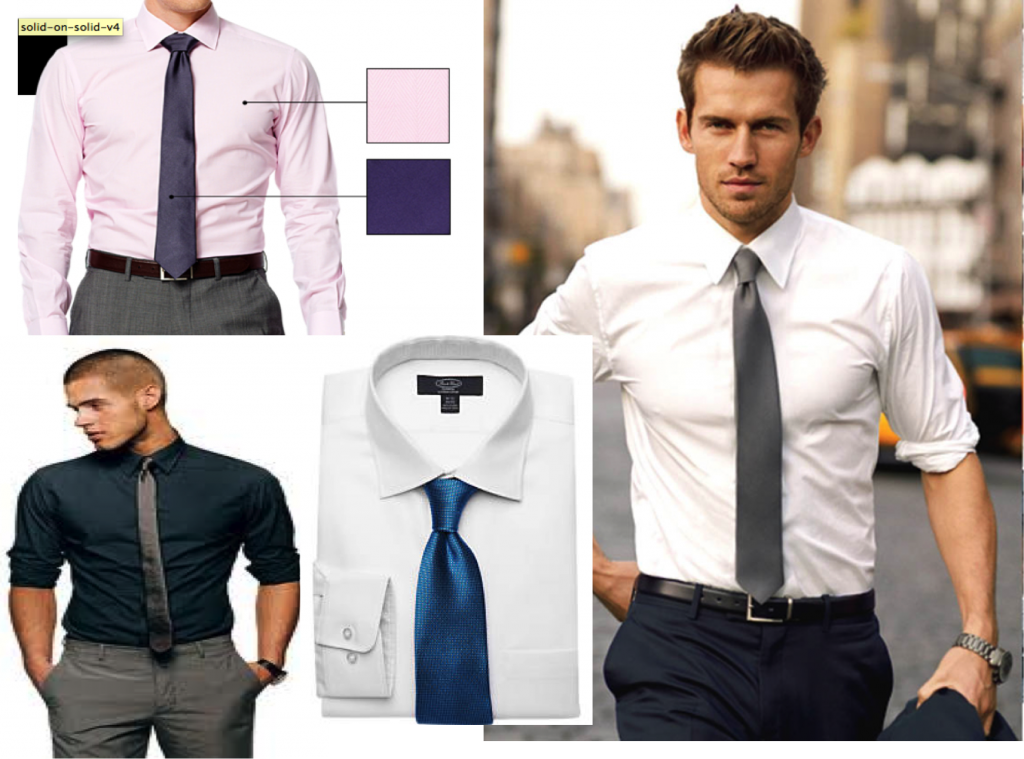Ties for men lookbook shirt and tie combinations part 3 for Shirt and tie for men