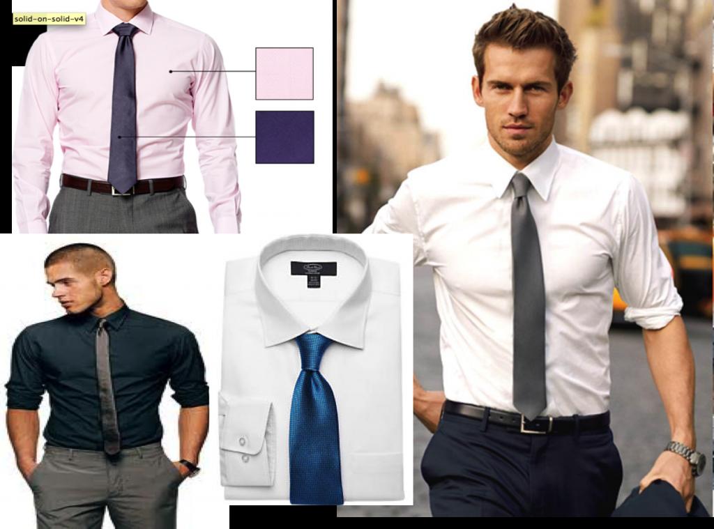 Ties for men lookbook shirt and tie combinations part 3 for Mens dress shirts and ties combinations