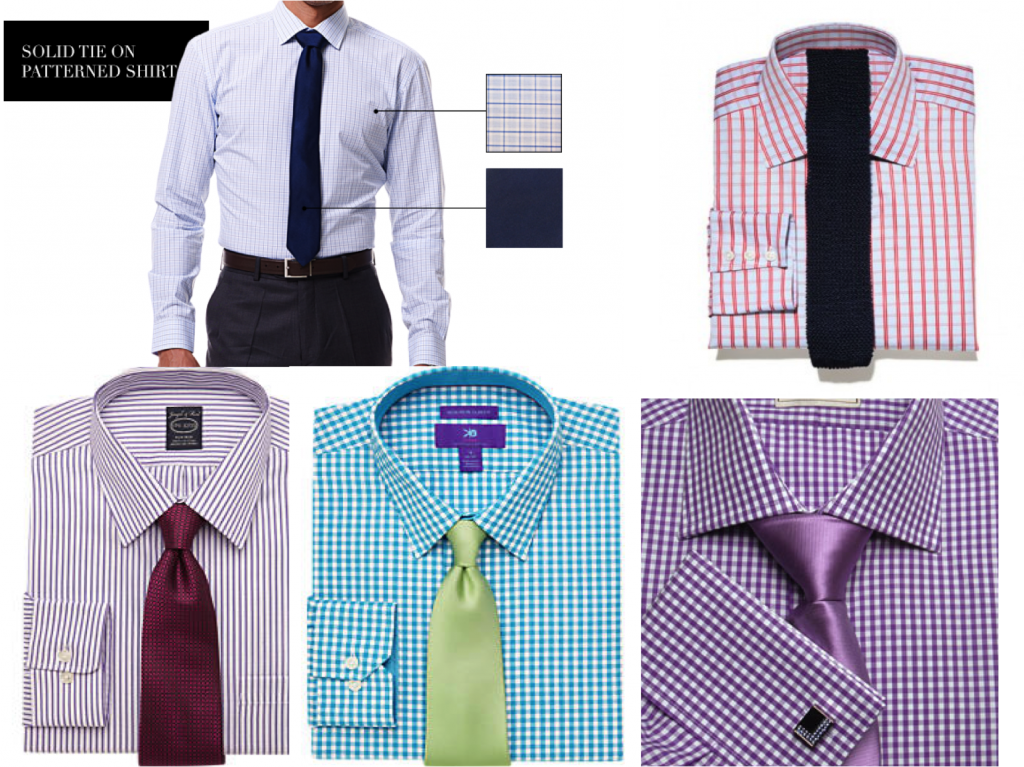 Ties for men lookbook shirt and tie combinations part for Dress shirts and tie combos sale