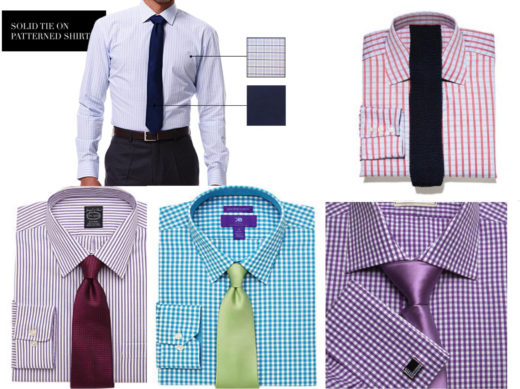 Ties for men lookbook shirt and tie combinations part for Mens dress shirts and ties combinations