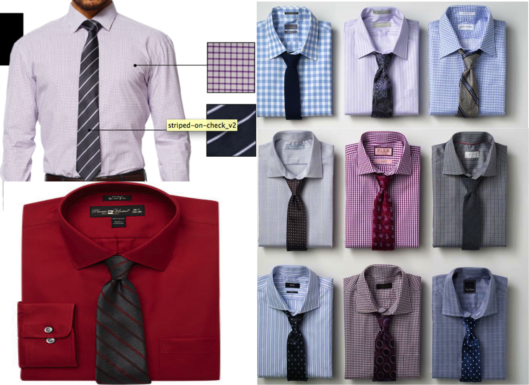 Ties for Men - Lookbook - Shirt and Tie Combinations |V ... - photo#27